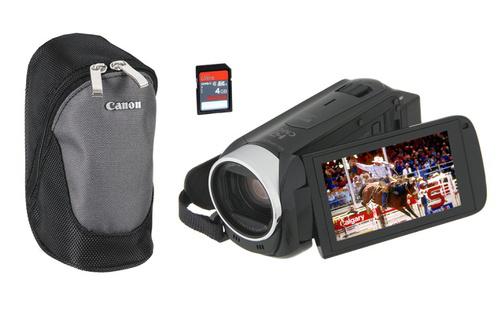 Caméscope numérique Canon HF R47 Wi-Fi + Housse + Carte 4Go