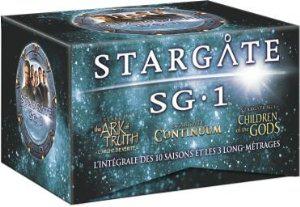 Coffret 61 DVD: Integrale Stargate SG1