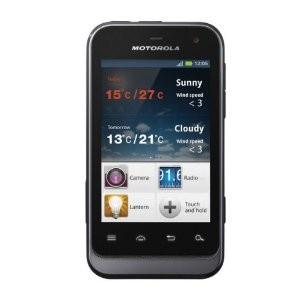 Smartphone Motorola Defy Mini couleur Dark Silver