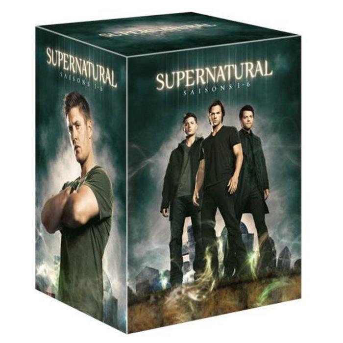 Coffret DVD Intégrale Supernatural Saisons 1 à 6