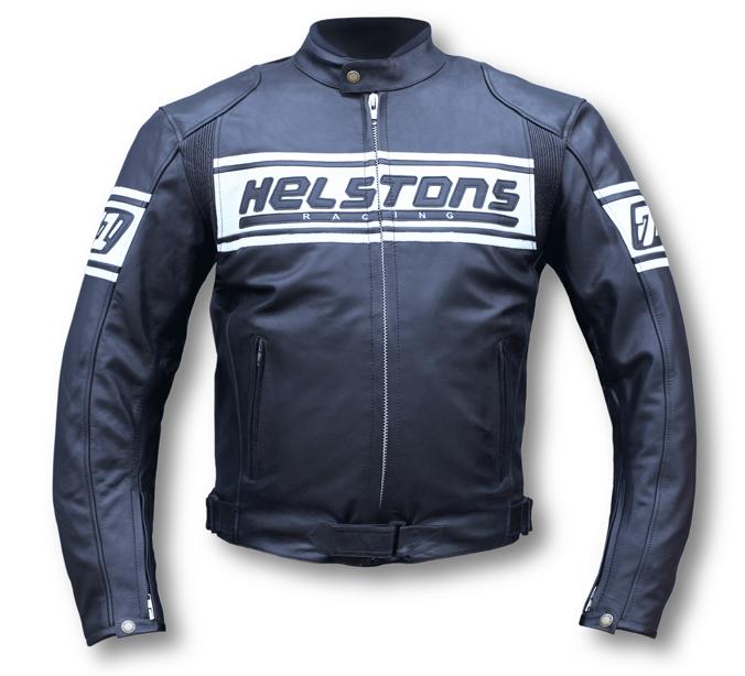 Blouson moto Nicky Helstons Cuir