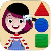 Shapes & Puzzles by Pirate Trio gratuit sur iOS (au lieu de 2,69€)
