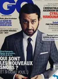 Abonnement Magazine GQ (1 an)