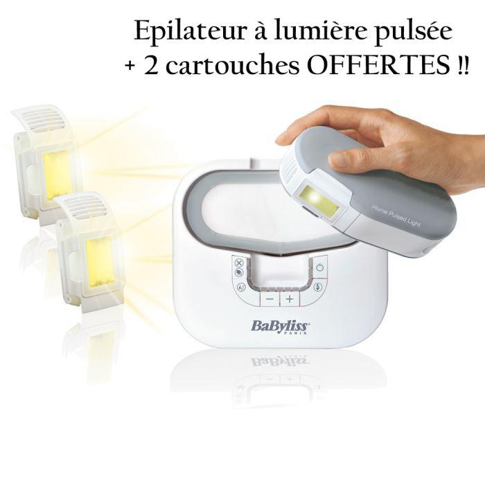 Epilateur Lumière Pulsée Babyliss P0660E et 2 Ampoules