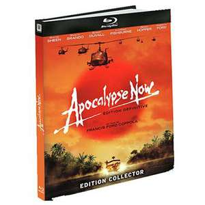Coffret Apocalypse Now Redux - Edition collector : 3 Blu-Ray + 4 DVD + Le livre 300 pages