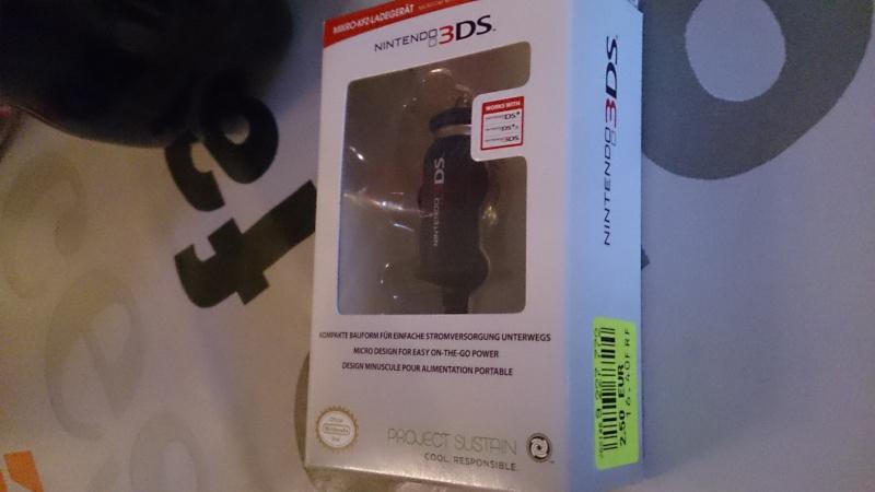 Chargeur allume-cigare Officiel Nintendo pour 3DS/DS