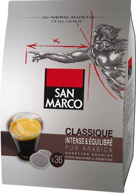 Plusieurs optimisations sur le catalogue du 26/02 - Ex : 36 dosettes de café San Marco