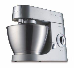 Robot Chef Premier Inox Satiné Kenwood KMC570 + AT950 Hachoir Vis Metal