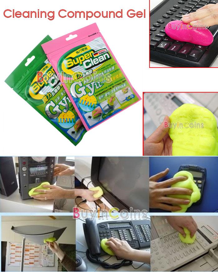 Gel nettoyant Super clean pour vos claviers