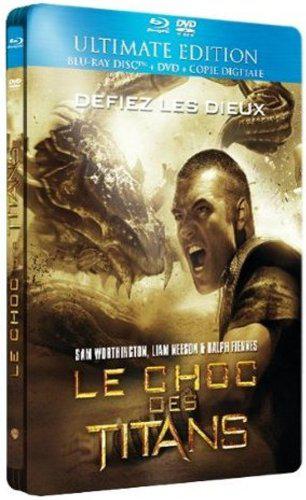combo Blu-ray + DVD - Le choc des Titans