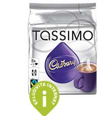 Livraison gratuite sur les dosettes Tassimo dès 30€ d'achat (au lieu de 6€)