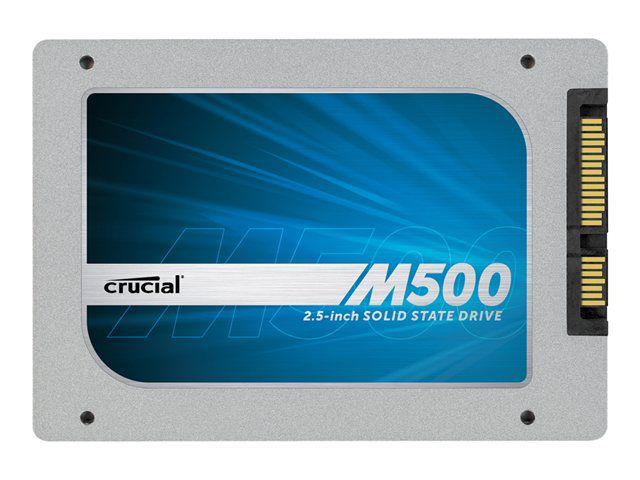 SSD Crucial M500 240Go (+0,20€ pour le mSata)