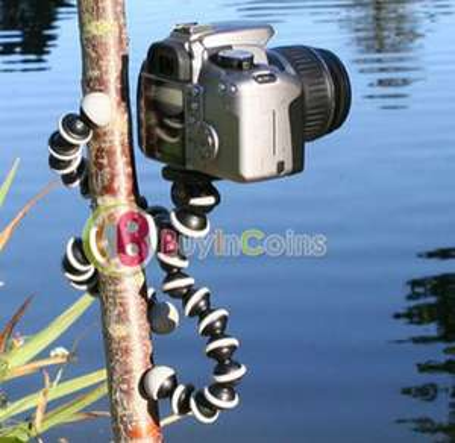 "Trépied photo tripode de type ""Gorillapod"""