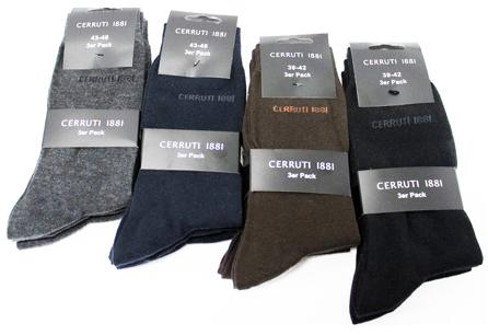 12 paires de Chaussettes Cerruti