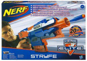 2x pistolet semi-automatique à fléchetttes Nerf Elite Stryfe (Avec ODR)