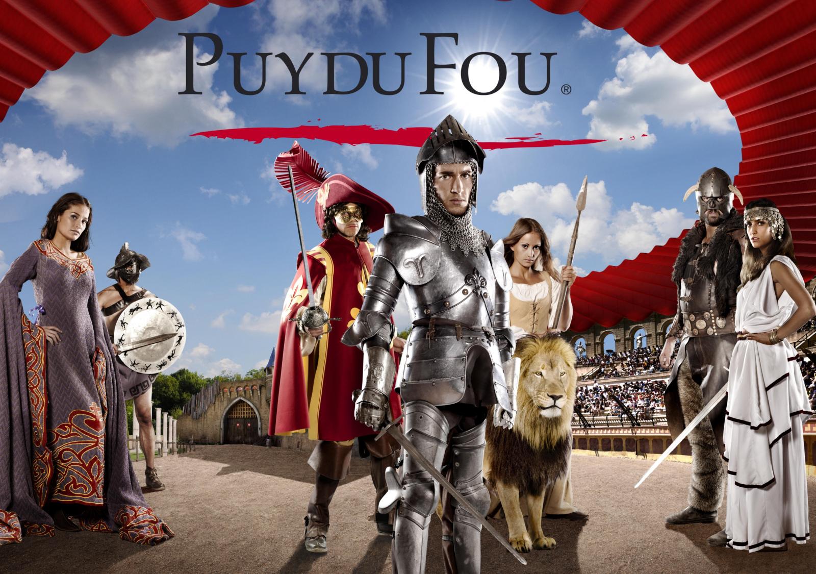 Entrée au Grand Parc du Puy du Fou gratuite pour les enseignants (au lieu de 30€)