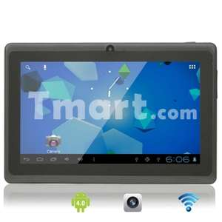 "Tablette capacitive 7"" 4Go, Android 4.0 - Plusieurs coloris"