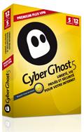 Abonnement VPN CyberGhost 5 Dispositifs Premium Plus (12 mois)
