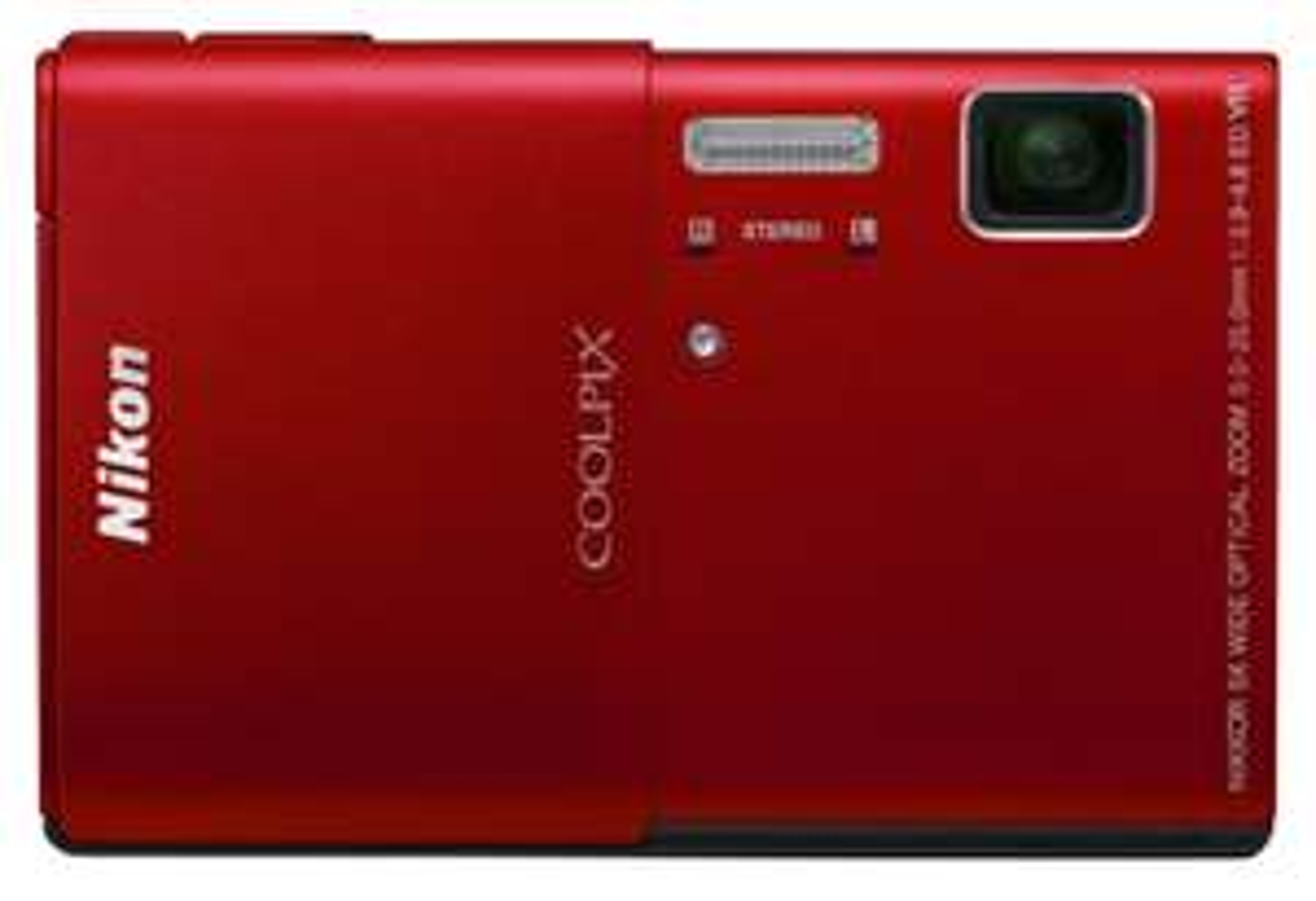 Appareil photo Nikon CoolPix S100 Rouge