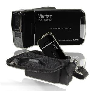 Caméscope Vivitar DVR - Full HD - Noir + Etui pour caméscope offert