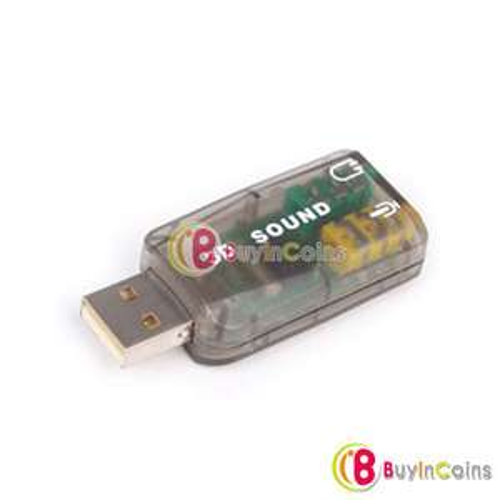 Mini carte son USB 2.0 (5.1 canaux)