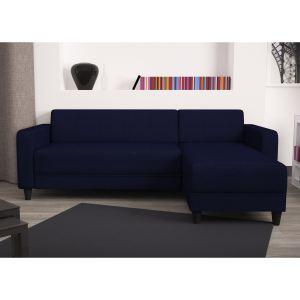 Canapé d'angle réversible First - Bleu