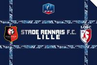 1/4 de finale de la coupe de France : Stade Rennais FC / Lille OSC