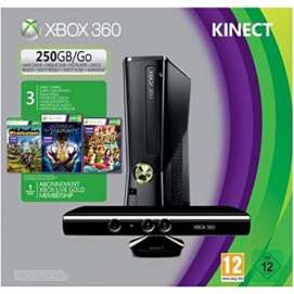 Console XBOX 360 250 Go + Kinect Fable the Journey + Wreckateer