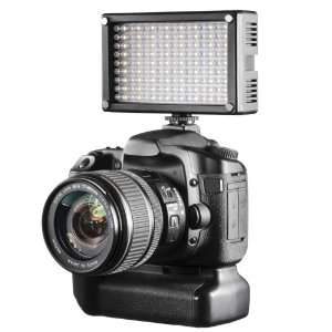 Torche Walimex 144 LED Bi Color pour réflex en video / Port inclus