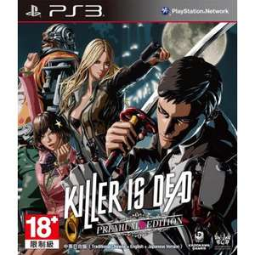 Killer is Dead sur PS3