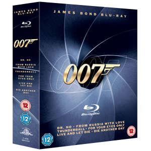 Coffret 6 Blu Ray James Bond 007