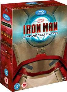 Coffret Blu-ray Trilogie Iron Man
