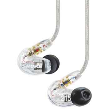 Ecouteurs Intra auriculaires Shure SE215 noir ou translucide