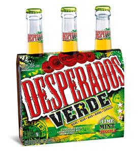 A partir du 7 : Pack de 3 bouteilles Desperados Verde