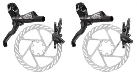 Paire de freins noir Avid 2014 ELIXIR 1 Disques HS1 180/180mm PM/IS