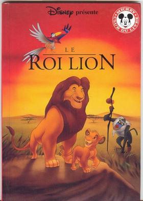 Livre « Le Roi Lion » de Disney (édition Hachette) gratuit (Autres voir description)