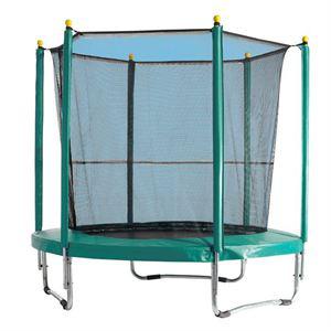 Trampoline diamètre 2 mètres avec filet de protection