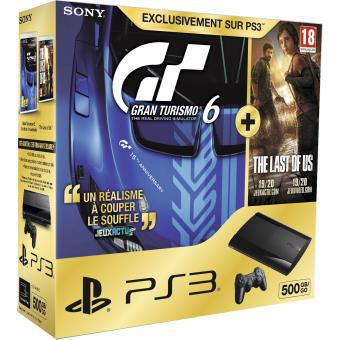 Sélection de packs PS3 Ultra Slim 500 go + Jeux
