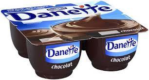 4 pots de Danette (plusieurs parfums)