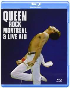 Blu-ray Queen Rock Montreal & Live Aid (import anglais)