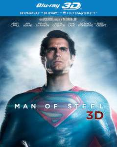 Coffret Blu ray 3D  +Blu Ray 2D + UltraViolet  Man of Steel