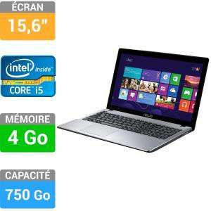 PC portable Asus R510CA-XX175H - i5-3337U - 4Go de ram - 750Go de disque dur