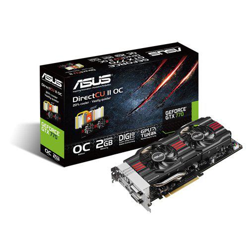 Carte graphique Asus Nvidia Geforce GTX 770