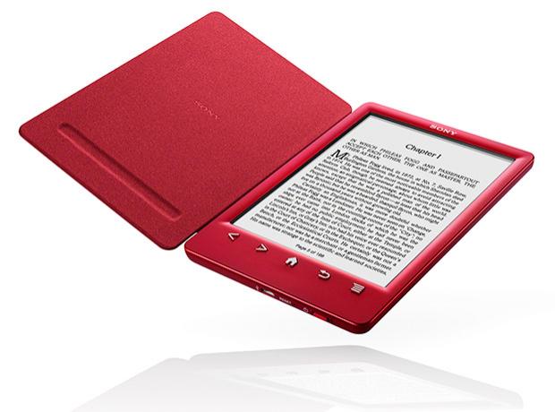 """Liseuse 6"""" Sony PRS-T3 2Go - Noir ou rouge"""
