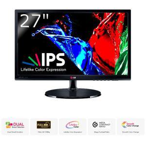 Ecran PC 27'' LG 27EA53VQ Dalle IPS - Full HD