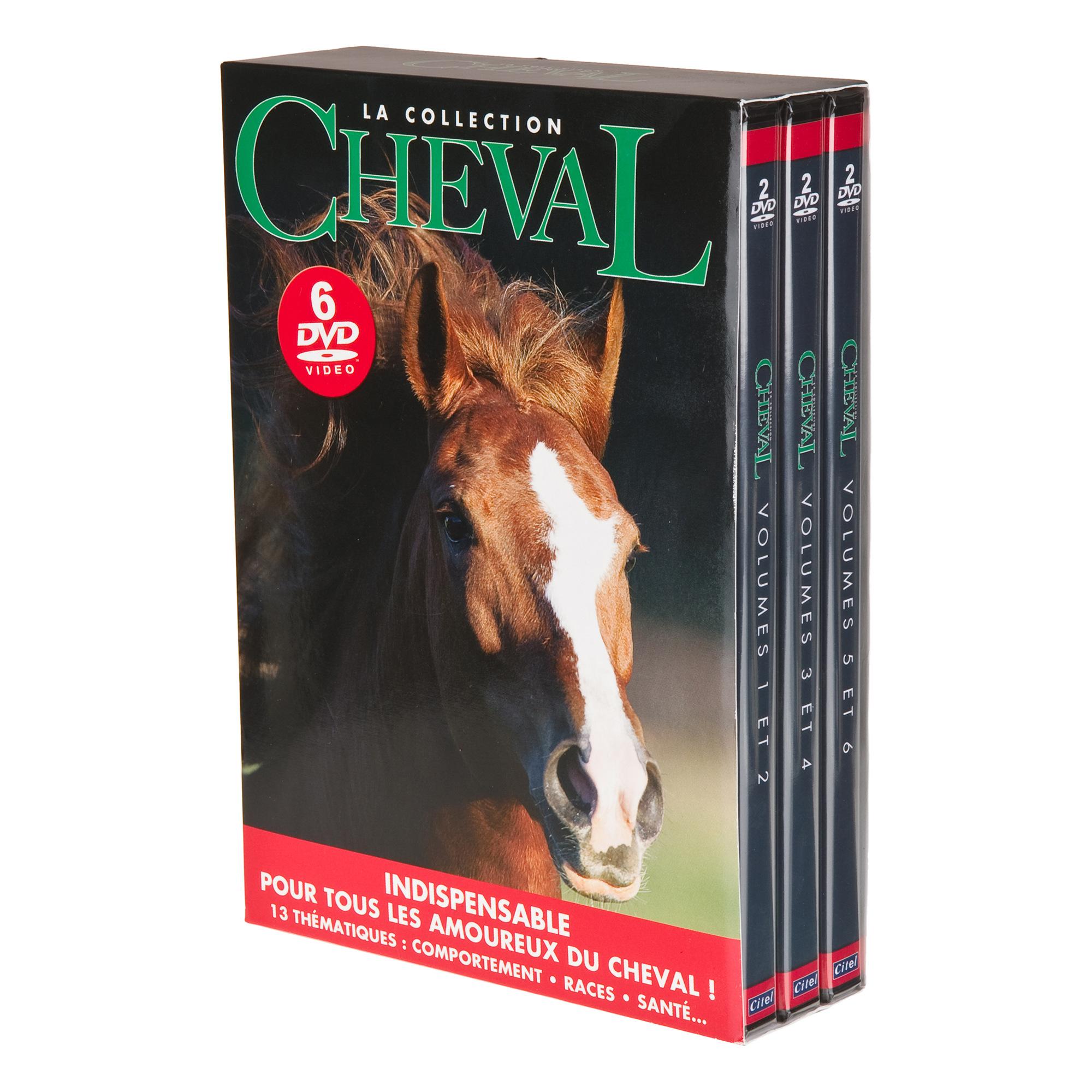 Coffret 6 DVD - Cheval - Volume 1 à 6