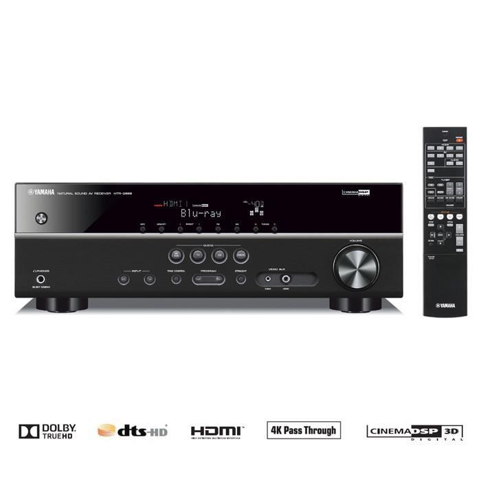 Amplificateur audio/vidéo 5.1 Yamaha HTR-2866