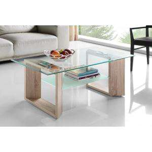 Table basse Mara verre - 110x60cm