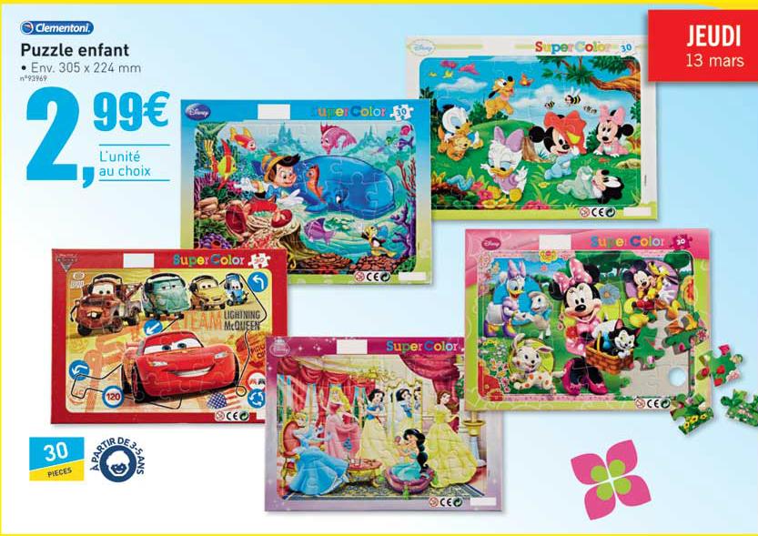 Selection de Puzzle Enfant