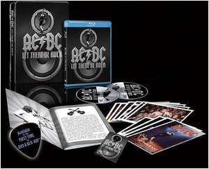 "Coffret concert  Blu-ray AC/DC ""Let there be rock"""